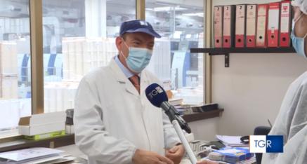 La RAI intervista l'azienda De Robertis di Putignano